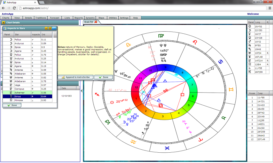 Astrological Interpretation Reports